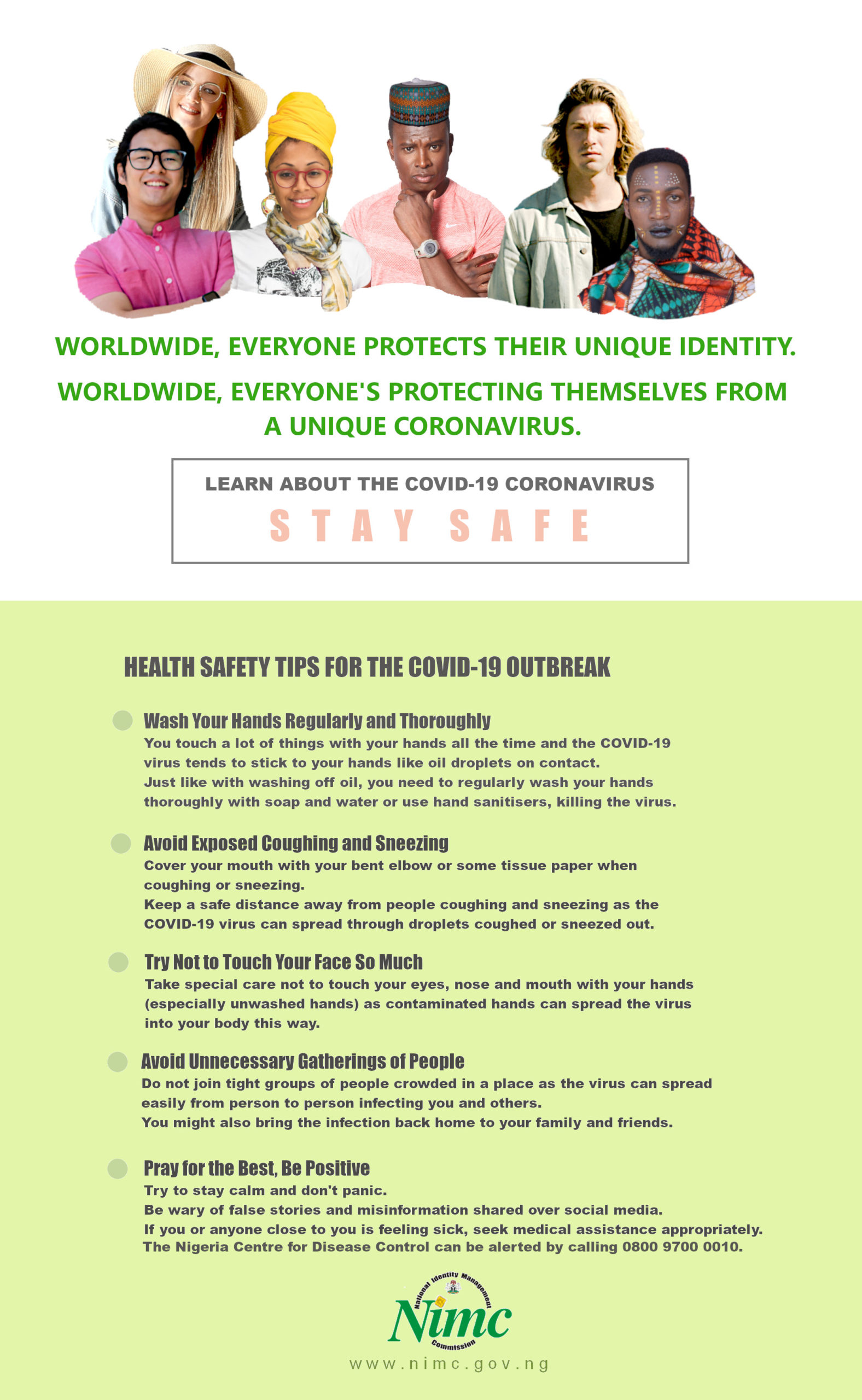 Health Safety Tips for the COVID-19 Outbreak